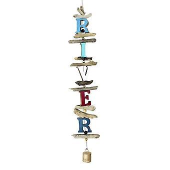 River Letter String Cohasset Bell