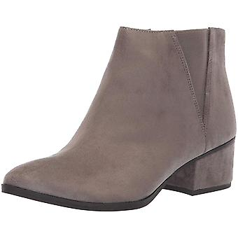 Dr. Scholl's Womens F8734F1 Leather Closed Toe Ankle Fashion Boots