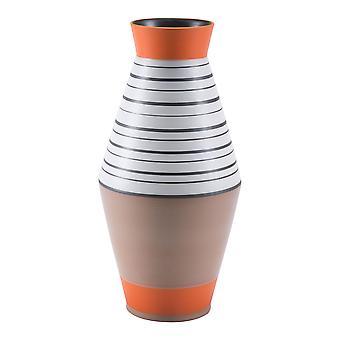 """8.1"""" x 8.1"""" x 16.7"""" Multicolor, Ceramic, Large Vase"""