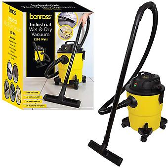 Benross 3in1 Industrial Wet & Dry Bagless Vacuum Cleaner With Blower