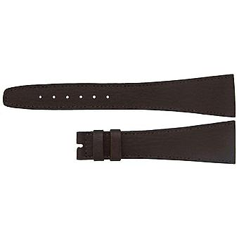 Authentic omega watch strap 22mm omega brown calf, xl