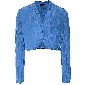 Grizas Linen & Silk Cropped Jacket