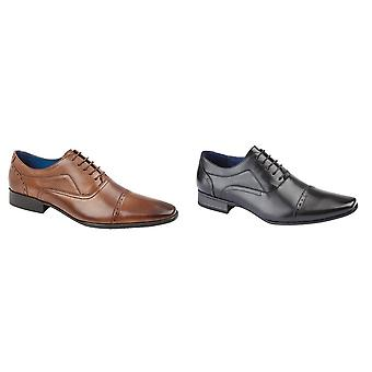 Route 21 Mens 5 Eye Capped Oxford Shoes