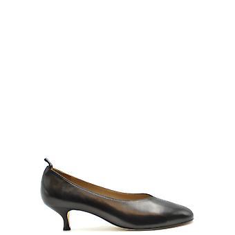 Golden Goose Ezbc011045 Kvinnor & Apos; s svart läder pumpar