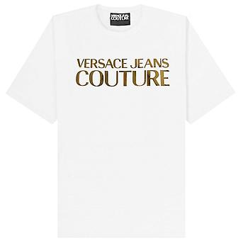 Versace Jeans Couture Gold Classic Logo T-Shirt White