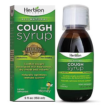 Herbion naturals throat syrup, 5 oz