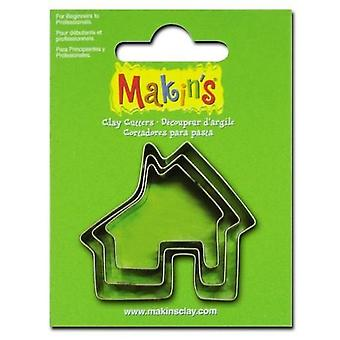 Makin'Clay Cutter house 2-4 CM