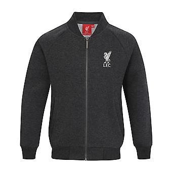 Liverpool FC Official Football Gift Boys Retro Varsity Baseball Jacket