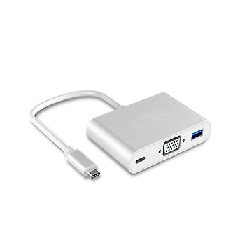 USB-C auf VGA Multiport Adapter - USB-C/VGA 4K/USB 3.0