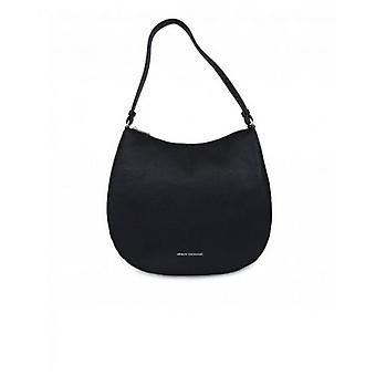 Armani Exchange Eco Leather Hobo Bag