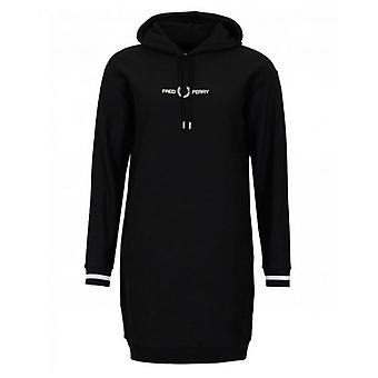 Fred Perry Authentics Hooded Logo Sweat Dress