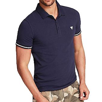 Guess Stretch Baumwolle Polo Shirt M02P45J1300