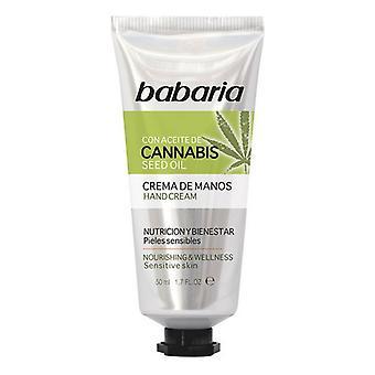 Crème pour les mains Babaria (50 ml)