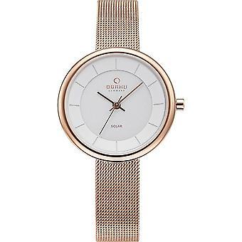 Obaku Lys Rose Women's Wristwatch V206LRVWMV
