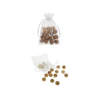20 Cedar Balls For Moth Protection  Natural Moth Repellent - Ideal Solution For Safe Hygienic Clothes Storage In Drawers Wardrobes