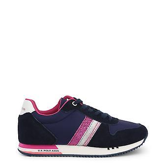 Zapatos de zapatillas de tela mujer ua43255