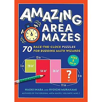Amazing Area Mazes by Naoki Inaba - 9781615196180 Book
