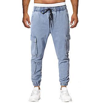 Allthemen Popular Men's Loose Denim Trousers