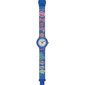 Hip Hop Analog quartz ladies Silicone wrist watch HWU0796