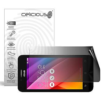 Celicious Privacy 2-Way Landscape Anti-Spy Filter Screen Protector Film Compatible with Asus Zenfone Go T500