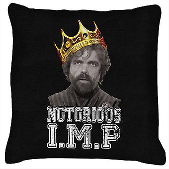 Notorious Big Tyrion Lanister Game Of Thrones Cushion
