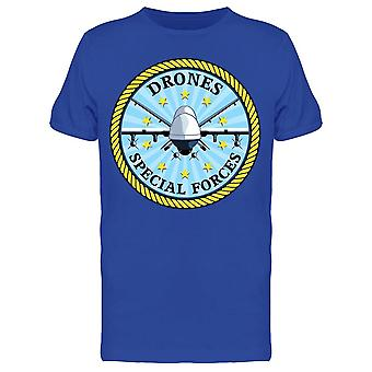 Badge Like Drone Special Forces Tee Men's -Kuva Shutterstock