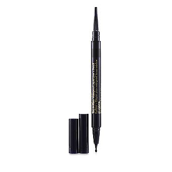 Double Wear Stay In Place Waterproof Liquid Liner + Pencil   # 01 Onxy 0.53g/0.012oz