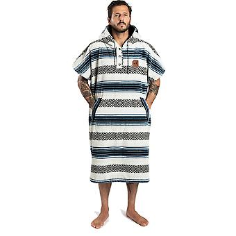 Slowtide Oso Poncho - S/M Hooded Towel in  White