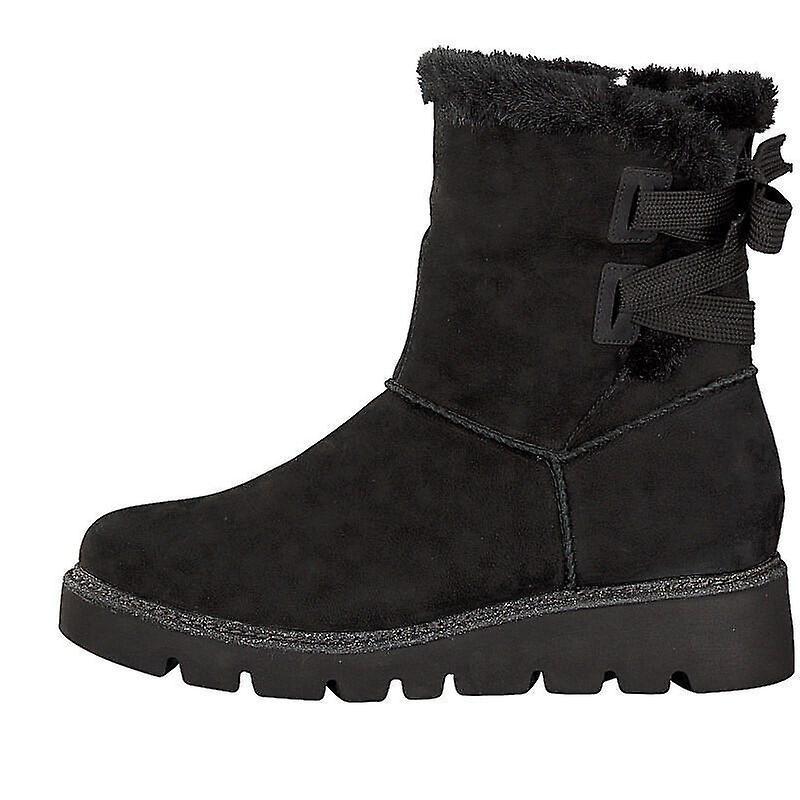 Remonte talamon brushnubuk wolf ankle boots womens black PSuIk