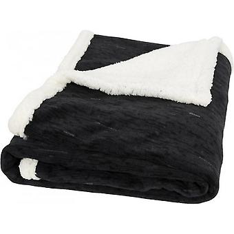 Field & Co Sam Heathered Fleece Plaid Blanket