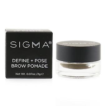 Sigma Beauty Define + Pose Brow Pomade - # Dark - 2g/0.07oz