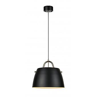 Spin hanglamp in staal 1 lamp
