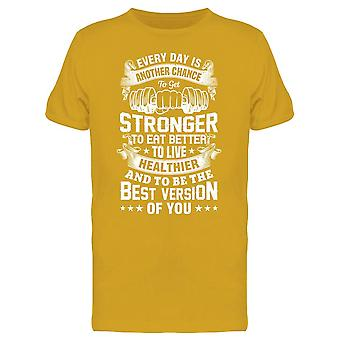 Live Healthier Everyday Tee Men-apos;s -Image par Shutterstock