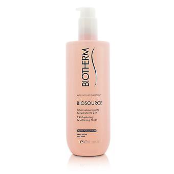 Biosource 24 h hydrating & softening toner for dry skin 205676 400ml/13.52oz