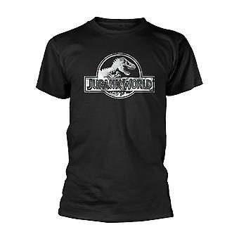 Jurassic World Logo Official Tee T-Shirt Mens Unisex