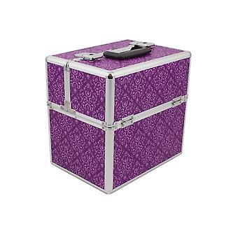Roo Beauty The Onyx Beauty Box Lighweight Mobile Imperial Purple