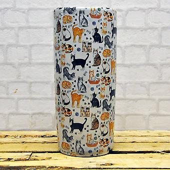 Round Cat Design Umbrella Stand