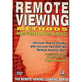Remote Viewing Methods: Remote Viewing Inside Out [DVD] USA import