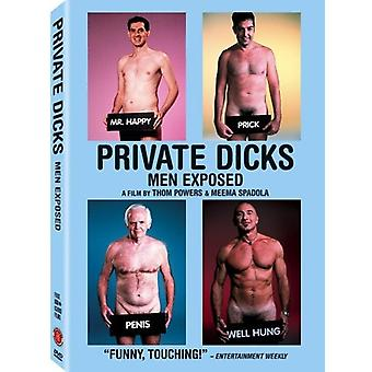Private Dicks [DVD] USA import