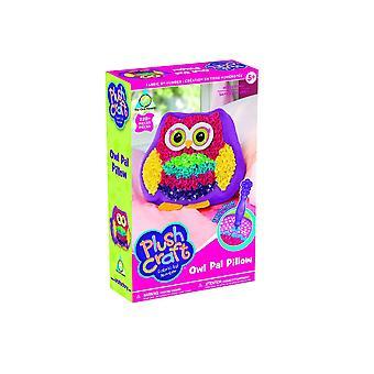 Plush craft pop in the plush owl