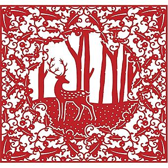 First Edition Christmas Craft a Card Die - Woodland