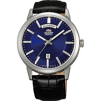 Orient Contemporary Watch FEV0U003DH - Läder Gents Automatisk analog