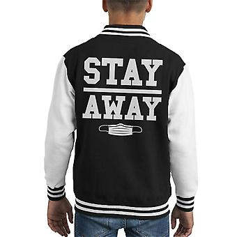 Stay Away Virus Kid's Varsity Jacket