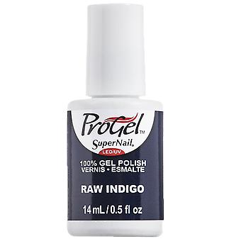 SuperNail ProGel Indigo Maven Gel Nail Polish Collection - Raw Indigo 14ml