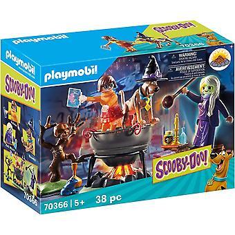 Playmobil 70366 Scooby Doo! Äventyr i häxan & apos; s kittel