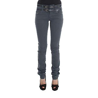 Galliano Mavi Pamuk Blend Slim Fit Yüksek Bel Jeans - SIG3658352