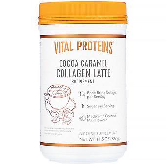 Vital Proteins, Collagen Latte, Cocoa Caramel, 11.5 oz (327 g)