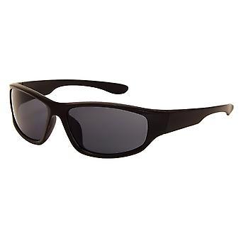 Sunglasses Unisex matt black with grey lens (AZ-170)