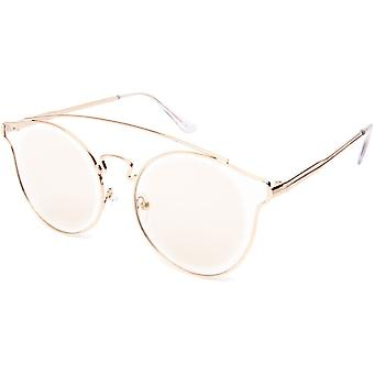 Sunglasses Unisex Cat.2 Light Brown Lens (19-120)