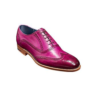 Barker Valiant - Purple Hand Painted | Mens Handmade Leather Oxford Brogues | Barker Shoes
